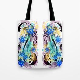Surf Board tat - Double - White  Tote Bag