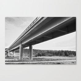 Bridged Canvas Print
