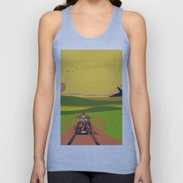 Farmhouse Hitchhiker Unisex Tank Top