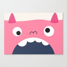pink monster Canvas Print