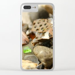 Man's imprint Clear iPhone Case