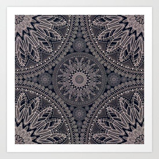Mandala 17/1 Art Print