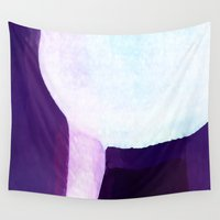 waterfall Wall Tapestries featuring Waterfall by Paul Kimble