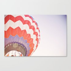 going up::denver Canvas Print