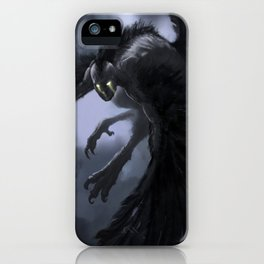 harpie-blue iPhone Case