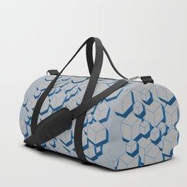 3D Futuristic Cubes III Duffle Bag