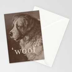 Famous Quotes #1 (anonymous dog, 1941) Stationery Cards