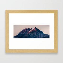 Garibaldi Sunset Framed Art Print