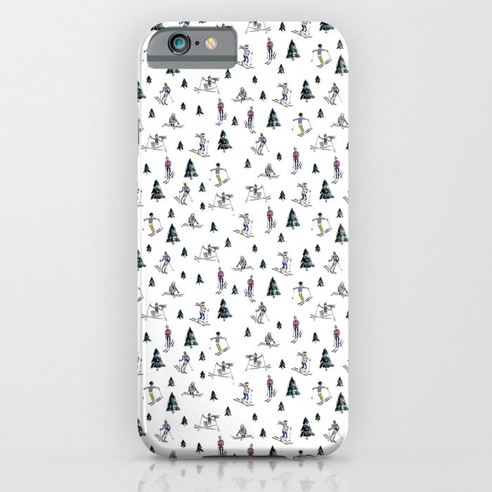 ski print iphone case