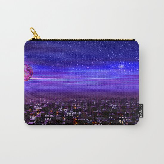 Spaceport Sunset Carry-All Pouch
