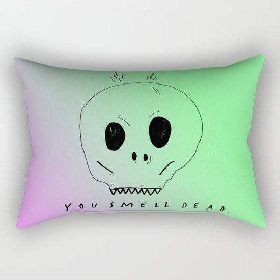 YOU SMELL BAD Rectangular Pillow