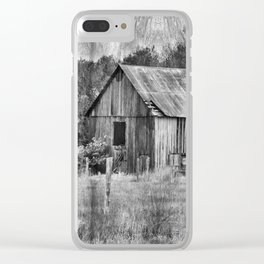 Vintage Barn Clear iPhone Case