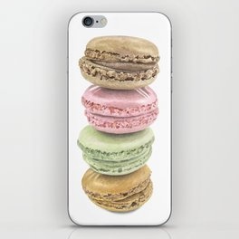 Macaron Watecolour Stack iPhone Skin
