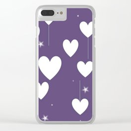 Pure Love Clear iPhone Case