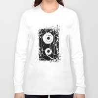 cassette Long Sleeve T-shirts featuring cassette by barmalisiRTB