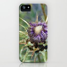 Thistle iPhone Case