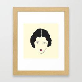 Actress Framed Art Print