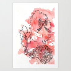 Cotton's Candy Art Print