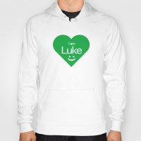 luke hemmings Hoodies featuring Luke by ♥ Charlie