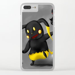 Heartless Pika Clear iPhone Case