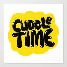 cuddle time Canvas Print