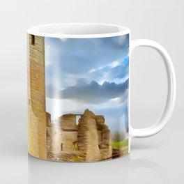 Caerlavrock Castle (Painting) Coffee Mug