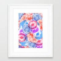 geode Framed Art Prints featuring Geode Flavor by Tyler Spangler