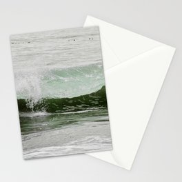 Catch a green wave Stationery Cards