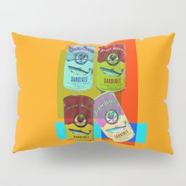 CANNED SARDINE Pillow Sham