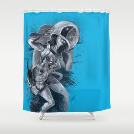 The Passenger Shower Curtain