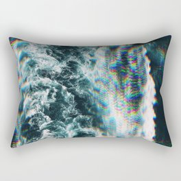 W a v e s Rectangular Pillow