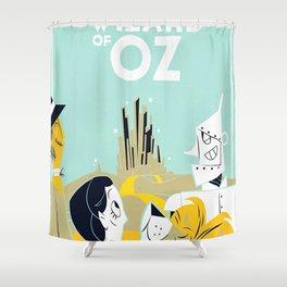 Oz Film Shower Curtain