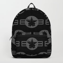 F35 Fighter Jet Airplane - F-35 Lightning II Backpack