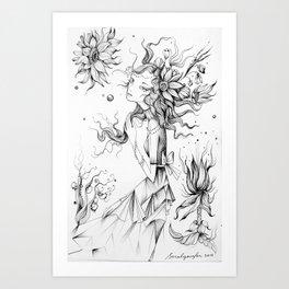 Plexus Solari Art Print