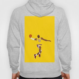 Lebron Dunk Laker James - Basketball Illustration Hoody