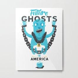 Future Ghosts Metal Print