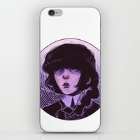 goth iPhone & iPod Skins featuring shoujo goth by Frank Odlaws