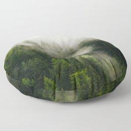 Val Gardena - The Fog Floor Pillow