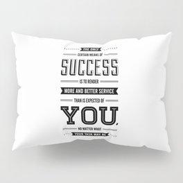 Lab No. 4 The Only Certain Og Mandino Inspirational Quotes Pillow Sham