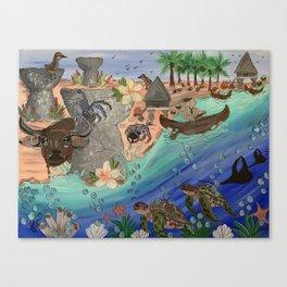 Guam Culture Canvas Print