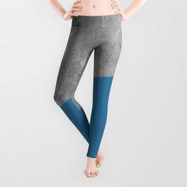 Geometry 101 Saltwater Taffy Teal Leggings