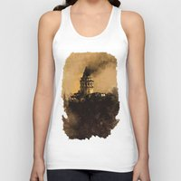 istanbul Tank Tops featuring istanbul  by Atalay Mansuroğlu