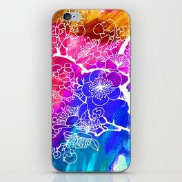 Flowers I iPhone Skin