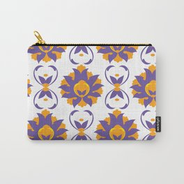 Islamic Illumination purple and orange palette Carry-All Pouch