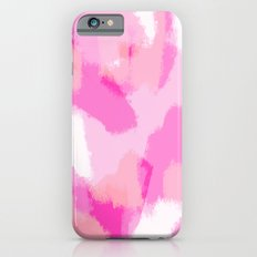 Amelia's Twin - Pink Abstract Digital Painting iPhone 6s Slim Case