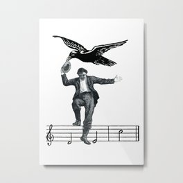 Saved By The Music Again  Metal Print