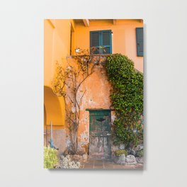 That's Vine by Me | Como, Italy Metal Print