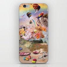 Collage 2 iPhone & iPod Skin
