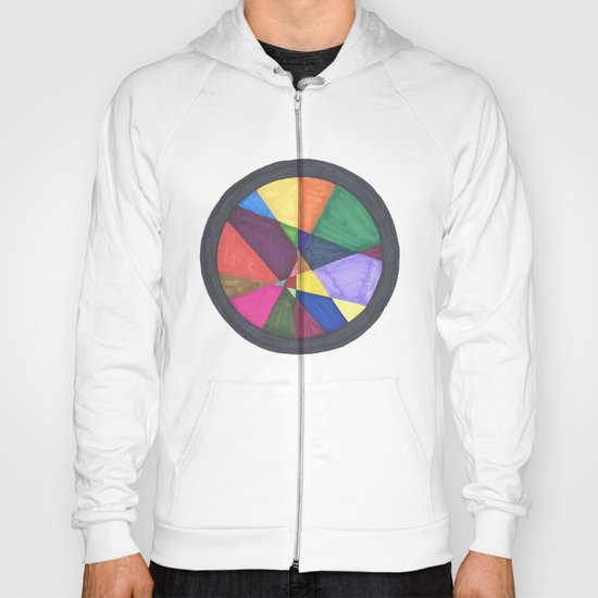 Circle Series: Colored Shapes - Caught. Hoody