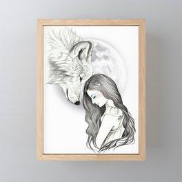 Harvest Moon Framed Mini Art Print
